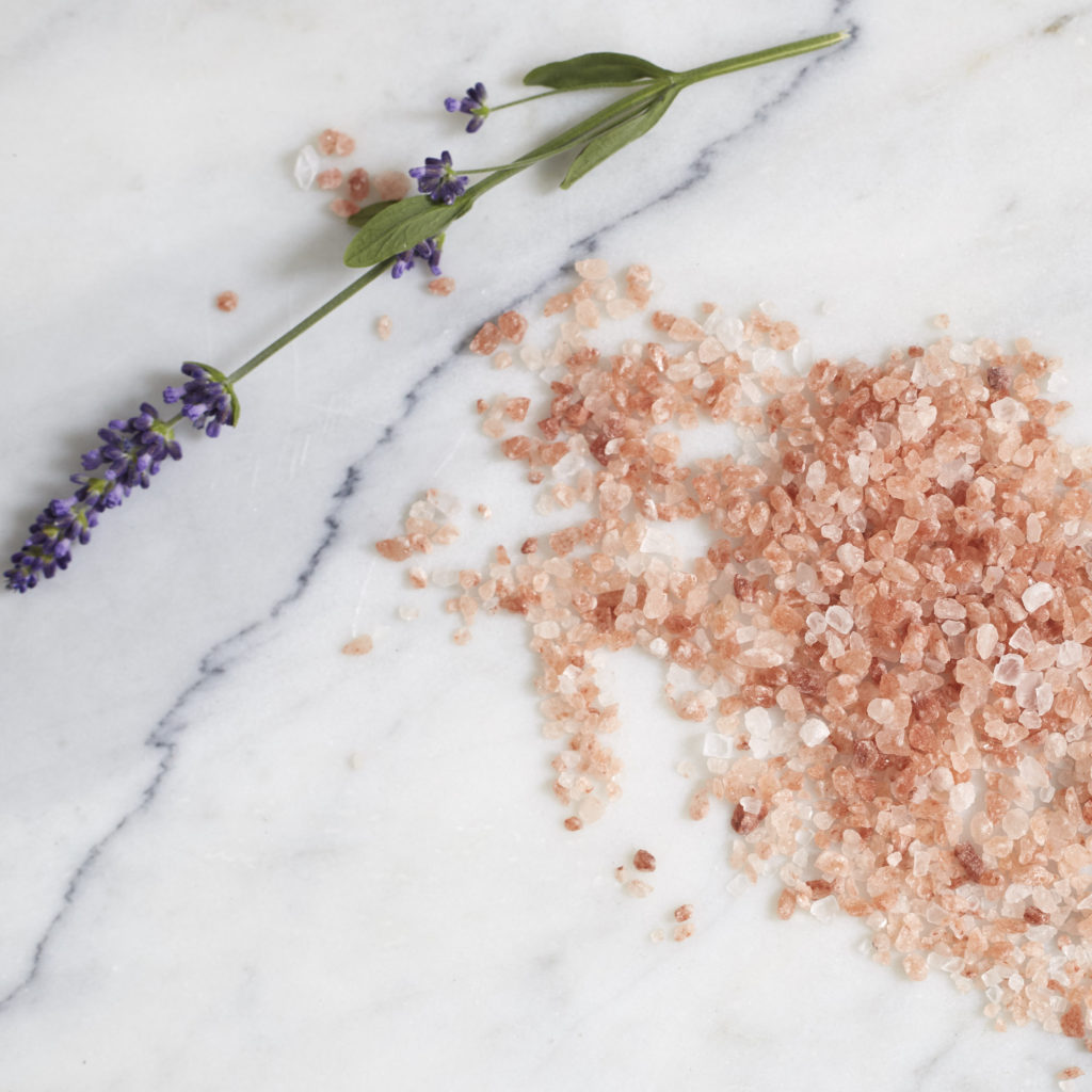 DEAD SEA SALTS & PINK HIMALAYAN SALTS WITH LAVENDER