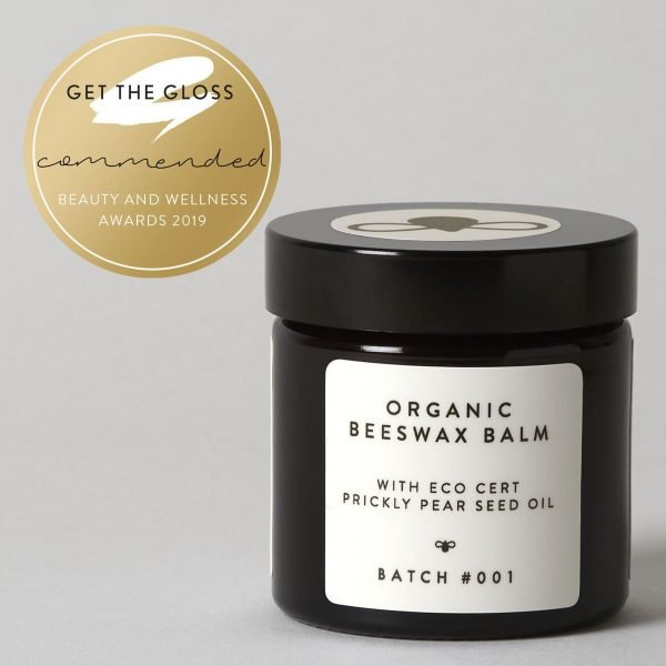 Organic Beeswax Balm with Eco Cert Prickly Pear Seed Oil 120ml