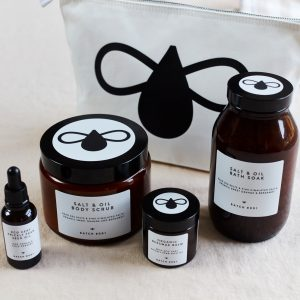 Bathing Ritual - Moisturise and Revive Set with Organic Prickly Pear Seed Oil