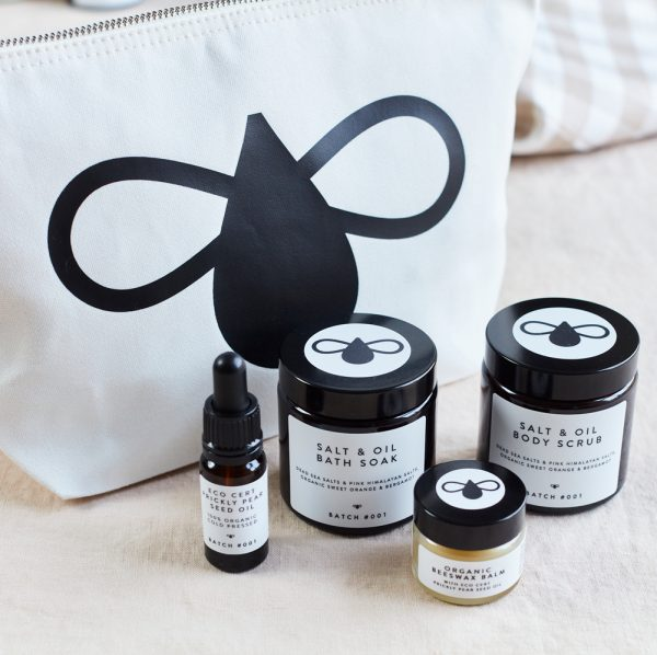 MIni Bathing Ritual - Moisturise and Revive Set with Organic Prickly Pear Seed Oil