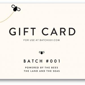 Batch001 E-Gift Card