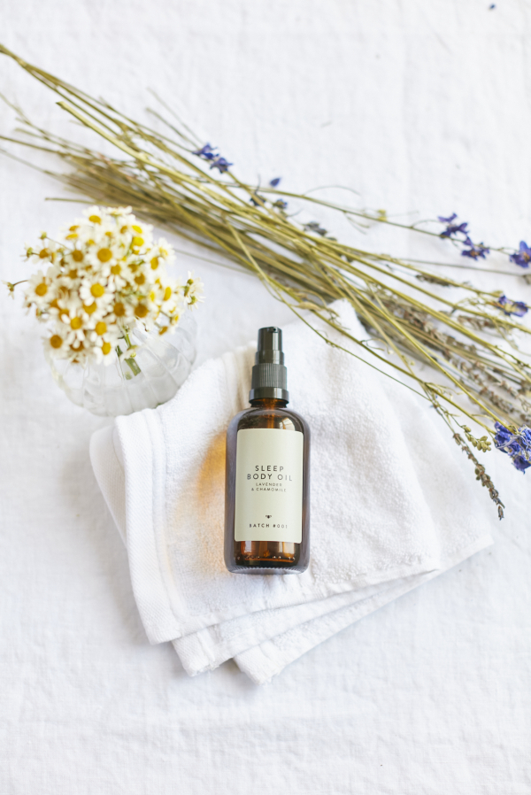 Sleep Body Oil with Lavender and Chamomile