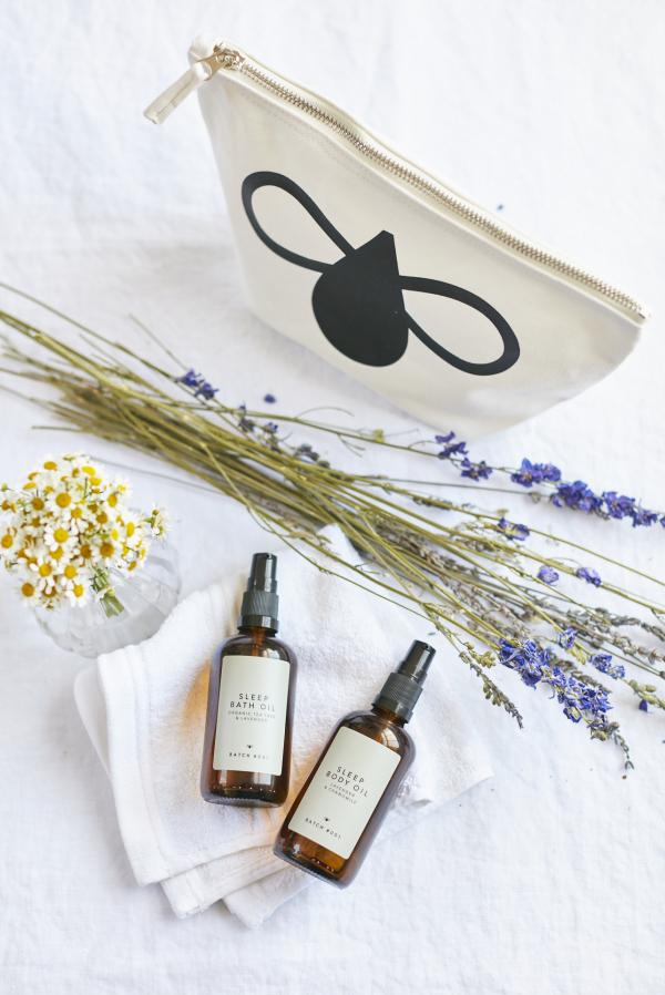 Sleep Bath and Body Oil Set